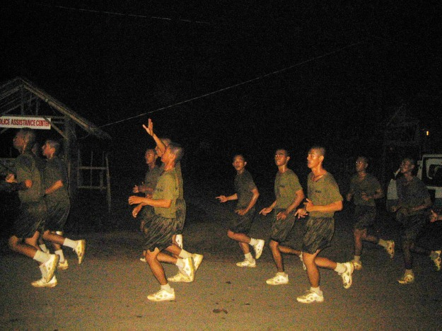 Soldiers in KAAMULAN 08