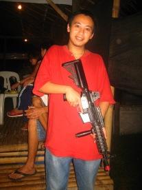 Not ma gun..